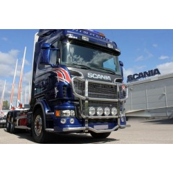 PARE BUFFLE BUTTERFLY SCANIA SERIES R +2009 AVEC GRILLE