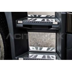 FOND INOX MARCHE PIED RENAULT T - SLEEPER CAB