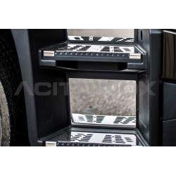 FOND INOX MARCHE PIED RENAULT T - HIGH CAB