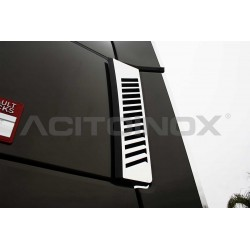 HABILLAGE INOX AIR DEFLECTEUR RENAULT T