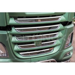 GRILLE INOX POUR CALANDRE DAF XF 106