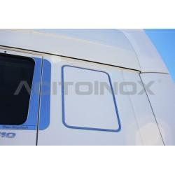 HABILLAGE INOX FAUSSE FENÊTRE DAF XF 105