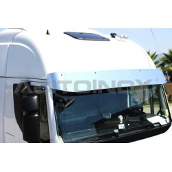 VISIÈRE INOX IVECO STRALIS HI-WAY (CABIN HIGH ROOF)