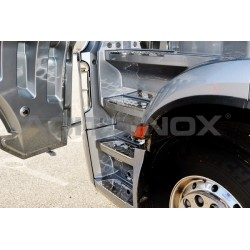 HABILLAGE INOX FOND MARCHES MERCEDES ACTROS MP4