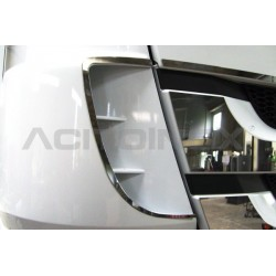 HABILLAGE INOX ANGLES DÉFLECTEUR MERCEDES ACTROS MP3