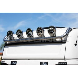 RAMPE DE TOIT COURTE INOX SCANIA L, R / NEW R / STREAMLINE