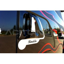 "HABILLAGE INOX ""GRIFFIN"" POIGNÉE SCANIA L, R / NEW R / STREAMLINE"