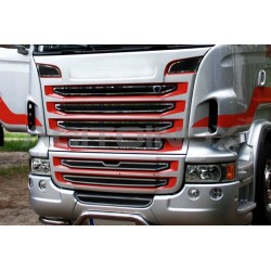 HABILLAGE INOX CALANDRE SCANIA NEW R / STREAMLINE