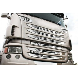 "HABILLAGE INOX ""TIGER"" CALANDRE SCANIA NEW R / STREAMLINE"