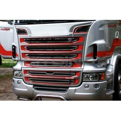 HABILLAGE INOX CALANDRE SCANIA SCANIA NEW R / STREAMLINE
