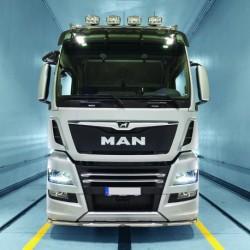 RAMPE SOUS SPOILER INOX MAN TGX EURO 6