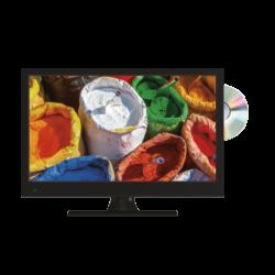 """TV LED 16"""" HD AVEC LECTEUR DVD/DIVIX"""