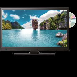 """TV LED 24"""" AVEC LECTEUR DVD/DIVIX"""