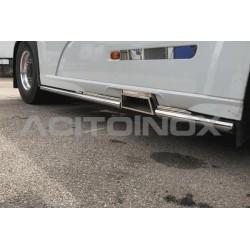 RAMPE INOX SOUS CARENAGE (CÔTÉ DROIT) DAF XF 106 EURO 6