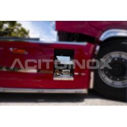 FOND INOX MARCHES DE CARENAGE IVECO S-WAY