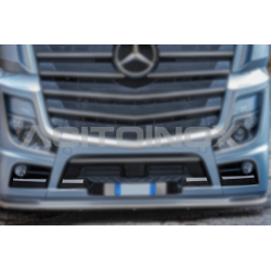HABILLAGE INOX PARE-CHOCS MERCEDES ACTROS MP5