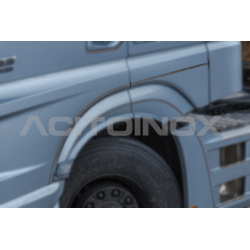 HABILLAGE INOX BAS DE PORTE MERCEDES ACTROS MP5