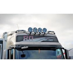"""TRUX"" Rampe de toit FH3 GLOBE XL en aluminium"