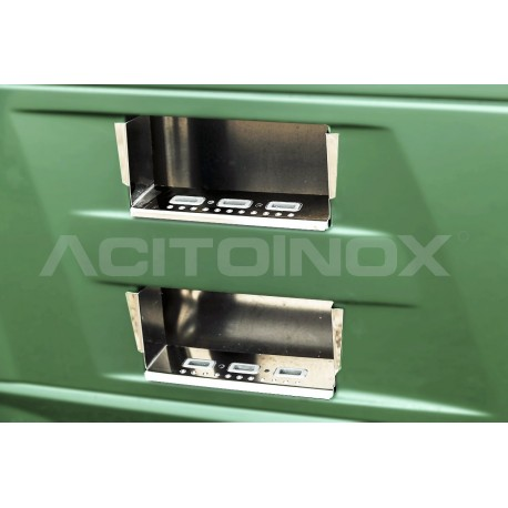 HABILLAGE INOX MARCHES DE CARÉNAGE DAF XF 106