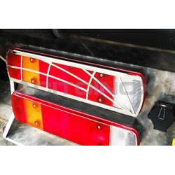 PLAQUE INOX FEUX STOP SCANIA NEW R / L, R