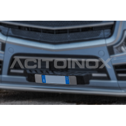 SUPPORT INOX PLAQUE IMMATRICULATION ACTROS MP5