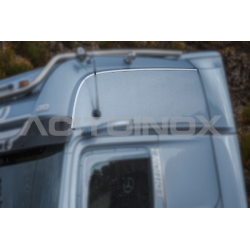 HABILLAGE INOX HAUT DE CABINE MERCEDES ACTROS MP5